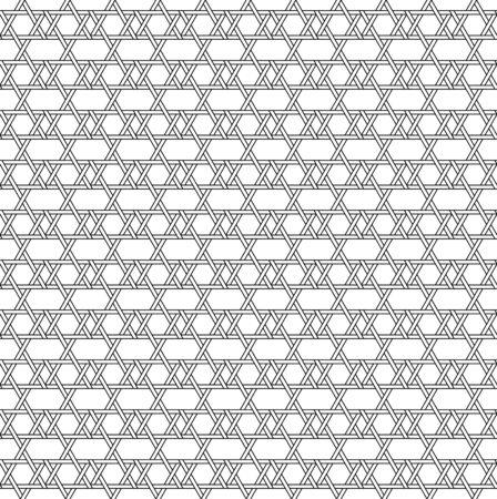 interlace: In bianco e nero geometrico seamless con stile tessitura, astratto, vettore, EPS10