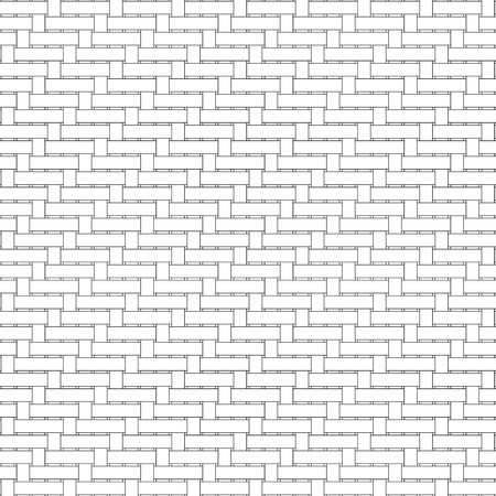 fabricate: Black and white geometric seamless pattern with weave style, abstract background, vector, EPS10