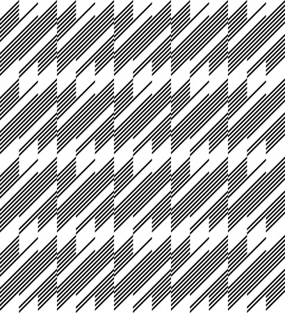 trapezoid: Black and white geometric stripe seamless pattern abstract background, vector, eps10.