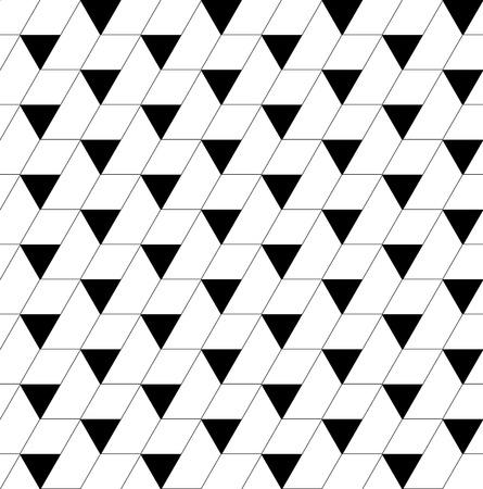 trapezoid: Modelo incons�til geom�trico blanco y negro con el tri�ngulo y trapecio, resumen de antecedentes, vector, EPS10