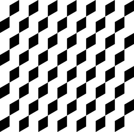 trapezoid: Black and white geometric seamless pattern, abstract background with trapezoid, vector, illustration.