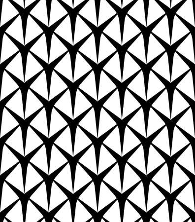 Black and white seamless pattern modern stylish, abstract background. vector, illustration.