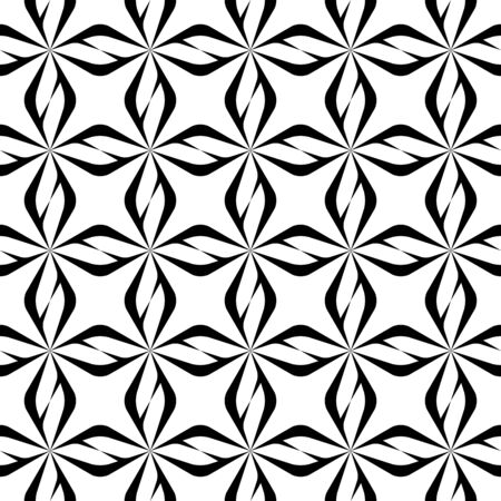repetition: Black and white seamless pattern modern stylish, abstract background. vector, illustration.
