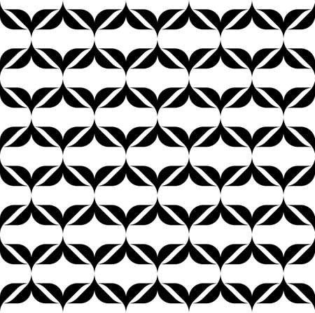 repetition: Black and white seamless pattern modern stylish, abstract background, vector, illustration.