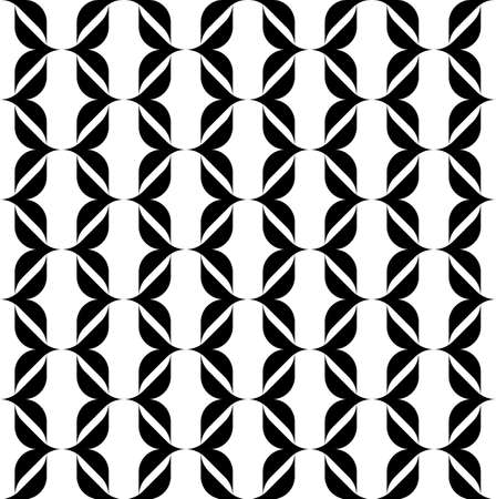 abstract background vector: Black and white seamless pattern modern stylish, abstract background, vector, illustration.