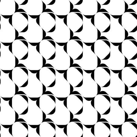 repeatable: Black and white seamless pattern, abstract background, vector, illustration. Vectores