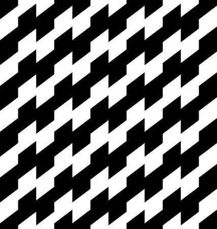 patchwork pattern: Black and white geometric seamless pattern, abstract background, vector, illustration.