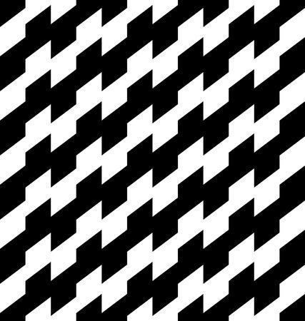 Schwarz und weiß geometrische nahtlose Muster, abstrakte Hintergrund, Vektor, Illustration. Illustration