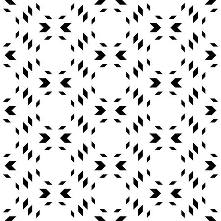 trapezoid: Black and white geometric seamless pattern with chevron. Abstract background. Vector seamless pattern. Illustration