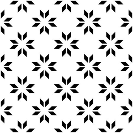 trapezoid: Black and white geometric seamless pattern with shevron. Abstract background. Vector seamless pattern. Illustration