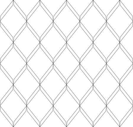 Black and white geometric seamless pattern modern stylish with line. Abstract background. Vector seamless pattern. Illustration