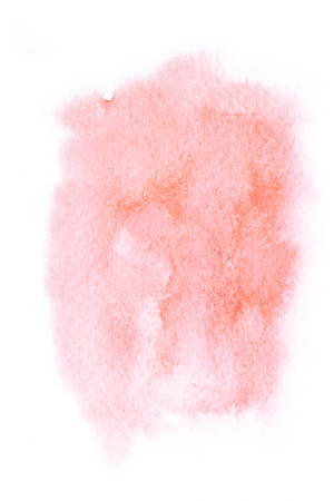 romance: Abstract watercolor illustration. Watercolor painting on paper. Abstract background. Stock Photo