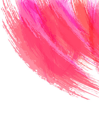 watercolor brush: Abstract watercolor brush stroke background. Vector background illustration. Artistic background. Illustration