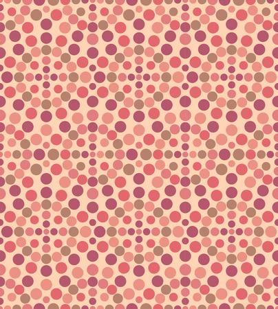slick: Geometric circle seamless pattern. Vector illustration. Abstract background. Illustration