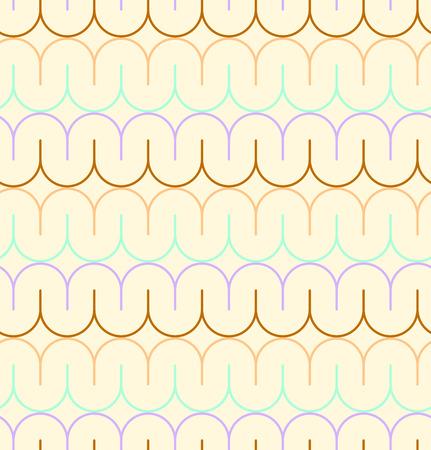 geschwungene linie: Geometric seamless pattern background with curved line.
