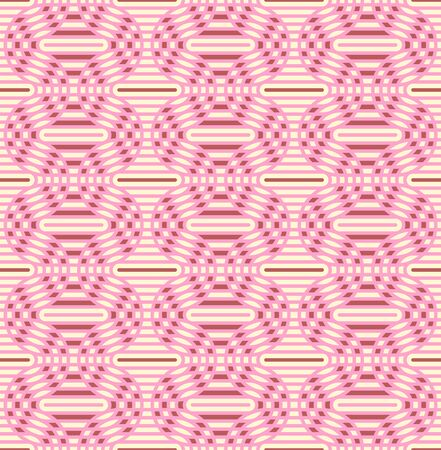 oval shape: Geometric seamless pattern background with line and oval shape.