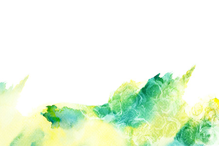technique: Abstract watercolor illustration of blossom rose flower. Watercolor painting on paper. Floral watercolor illustration.