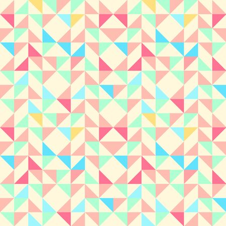 trapezoid: Geometric seamless pattern background with triangle trapezoid and square. Abstract background. Vector seamless pattern illustration. Illustration