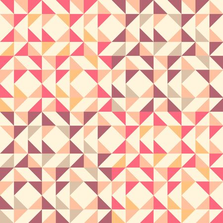 square abstract: Geometric seamless pattern background with triangle trapezoid and square. Abstract background. Vector seamless pattern illustration. Illustration