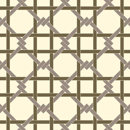 fabricate: Geometric seamless pattern background with weave style. Abstract background. Vector seamless pattern illustration. Illustration