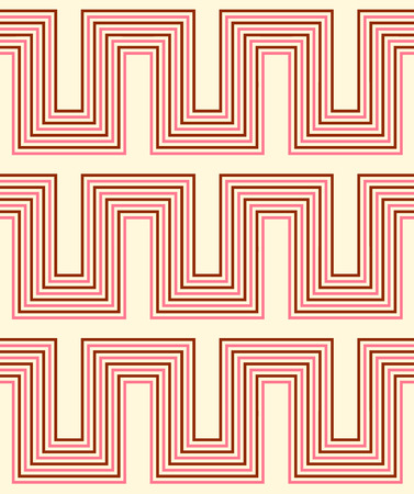 interlace: Geometric seamless pattern with line. Abstract background. Vector seamless pattern.