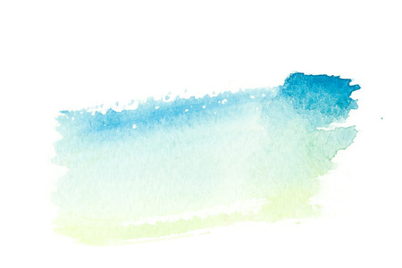 art: Abstract watercolor brush stroke illustration. Watercolor painting on paper. Abstract background. Stock Photo