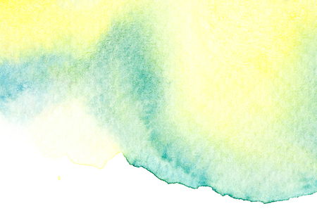 Abstract watercolor brush stroke illustration. Watercolor painting on paper. Abstract background. Stockfoto