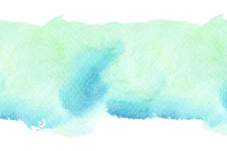 Résumé aquarelle coup de pinceau illustration. Peinture à l'aquarelle sur papier. Abstrait arrière-plan.