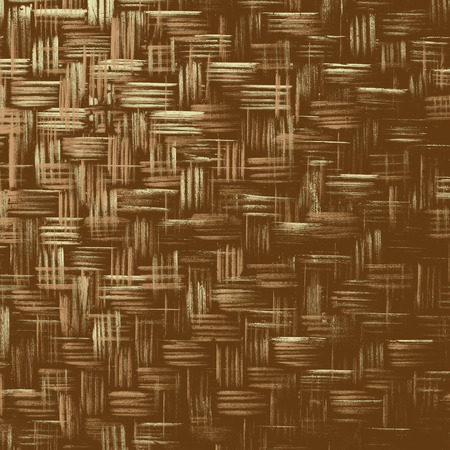 wickerwork: Abstract creative background of wickerwork pattern with filtered color. Bamboo weave texture for design.