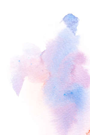 aquarell: Abstract watercolor brush stroke illustration. Watercolor painting on paper. Abstract background. Stock Photo
