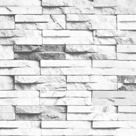 high key: Abstract black and white sandstone wall texture pattern background with creative filtered color. High key stylish. Stock Photo