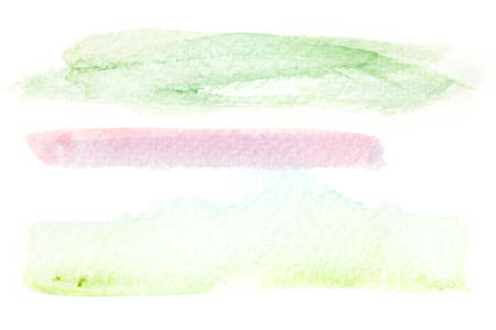 artistic background: Abstract watercolor brush stroke illustration on paper. Artistic painting background. Stock Photo