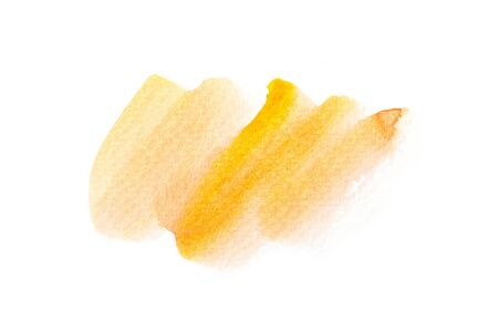 watercolor brush: Abstract watercolor brush stroke illustration on paper. Artistic painting background. Stock Photo