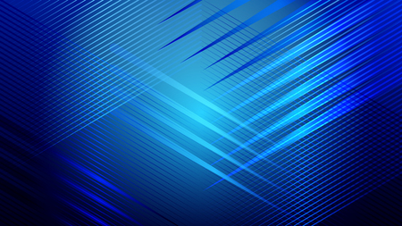 Abstract blue light and shade creative background. Vector illustration. Vektorové ilustrace
