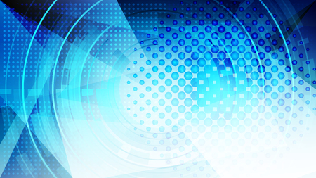 Abstract blue light and shade creative technology background. Vector illustration.