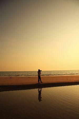 en la playa Foto de archivo - 4041730