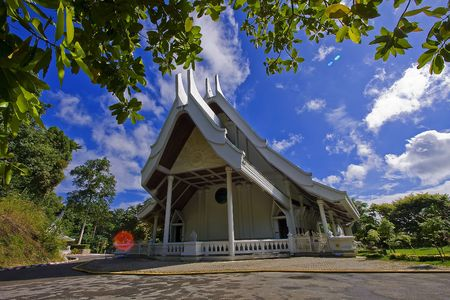 tample in rayong. photo