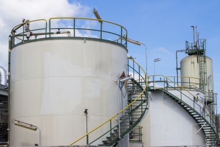 storage tank in chemical industrial photo