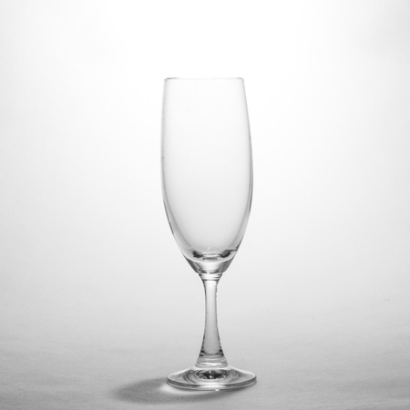 wine glass in black and white