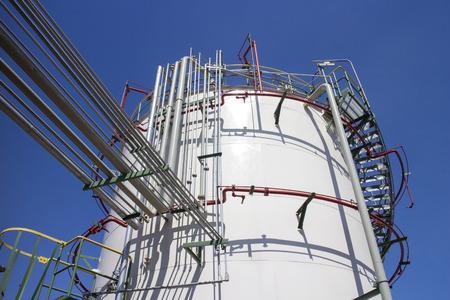 storage tank: Fire Sprinkler around storage tank