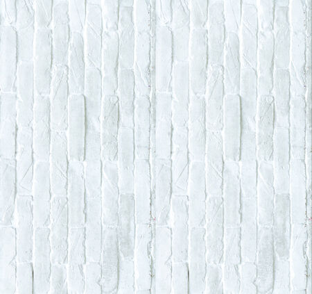 blanche: A white brick wall  background and texture.