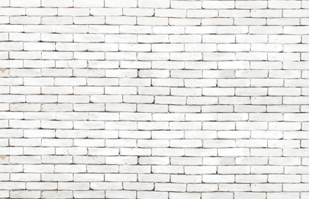 High resolution white grunge brick wall background Foto de archivo