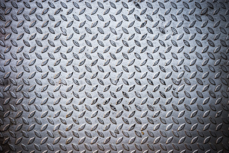 salvage yards: Seamless steel diamond plate texture .