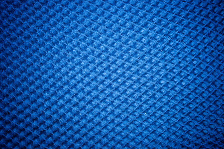 crosshatching: A vintage cloth cover with a blue screen pattern and grunge background textures