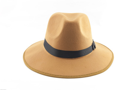 hombre con sombrero: Collage de la vendimia de la manera de la se�ora o el hombre del sombrero. Foto de archivo