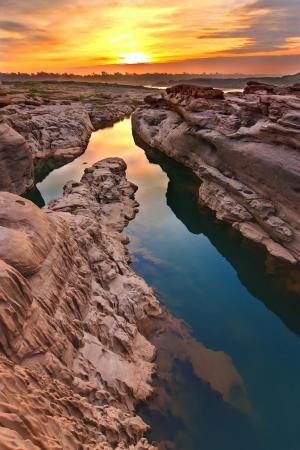 sun rise at Thailand Grand Canyon
