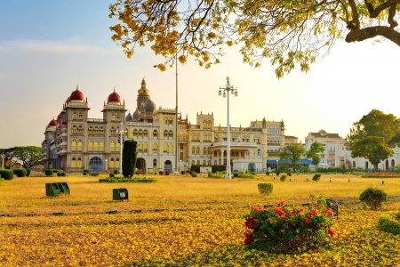 The famous Mysore Palace in India