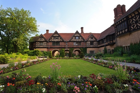 Cecilienhof palace located in Neuer Garten, where the Potsdam Conference took place in 1945