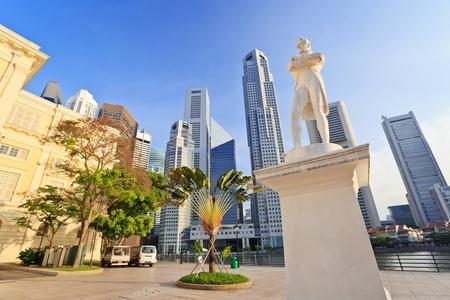 Sir Stamford Raffles statue, Singapore City