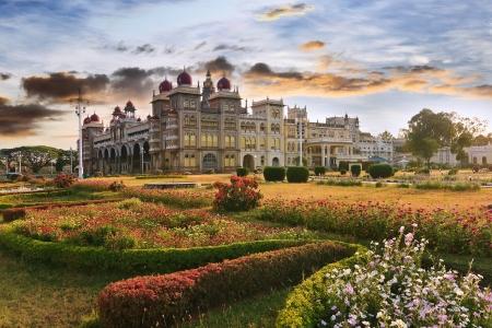 The famous Mysore Palace , Mysore , India Editorial